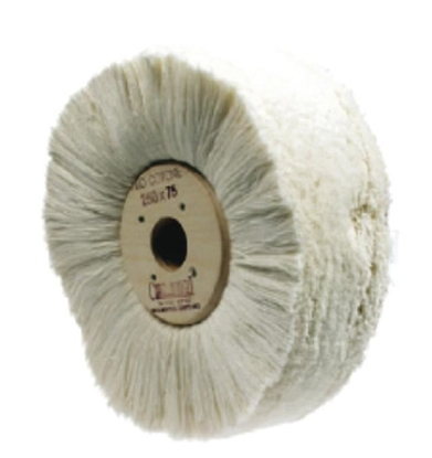 Picture of WHITE WOOL YARN BRUSH