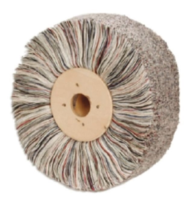 Picture of COLOURED WHOOL YARN BRUSH