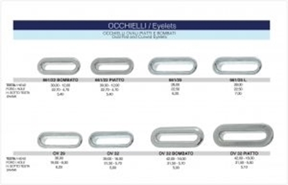 Picture of OVAL EYELETS